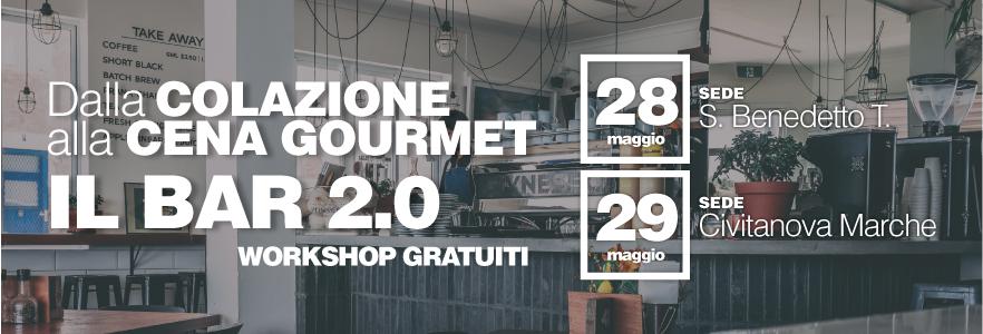 Workshop gratuito: Dalla colazione alla cena gourmet - Il bar 2.0